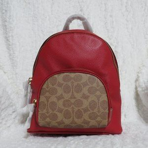 Coach Signature Colorblock Carrie 23 Backpack